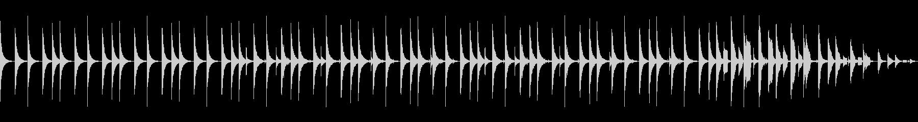 超スローテンポノービートバージョンの未再生の波形