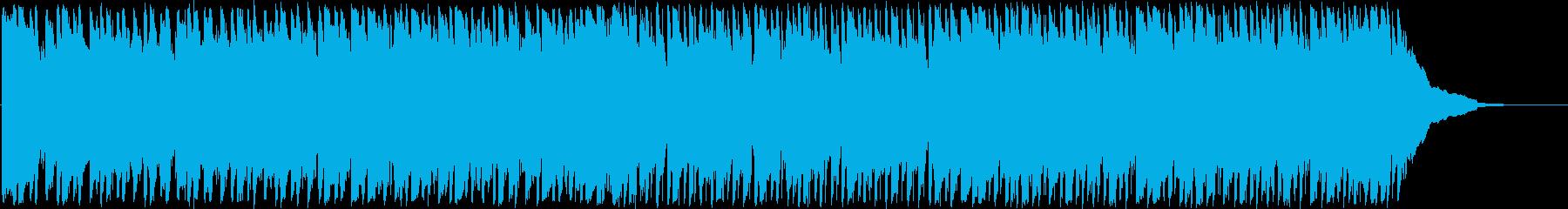 ジャングルで弾むようなムードでポッ...の再生済みの波形