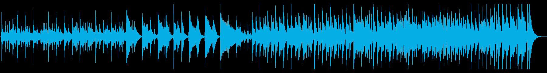 和風ジャズアンサンブルの再生済みの波形