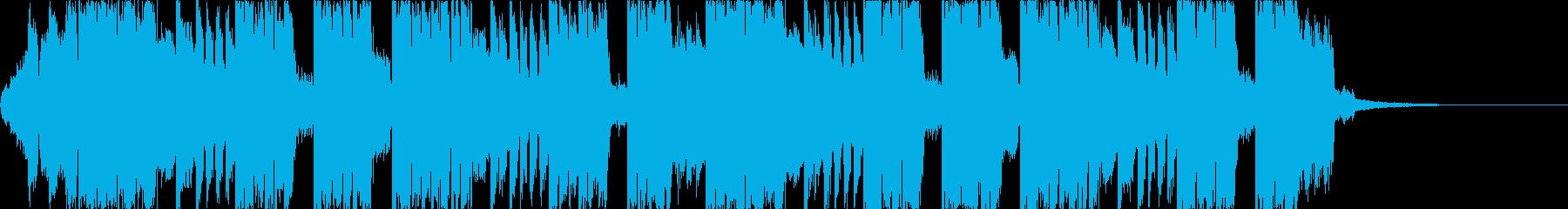 FutureBass2、洋楽、爽快、夏cの再生済みの波形