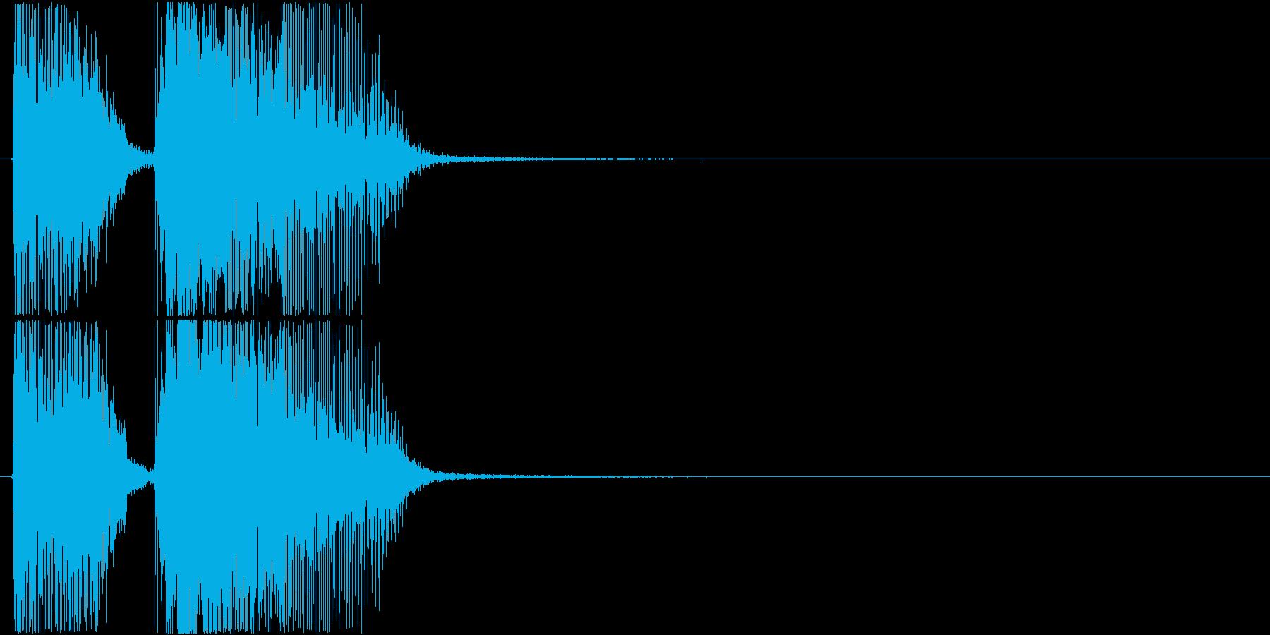 「オッケー!」ゲーム・アプリ用の再生済みの波形