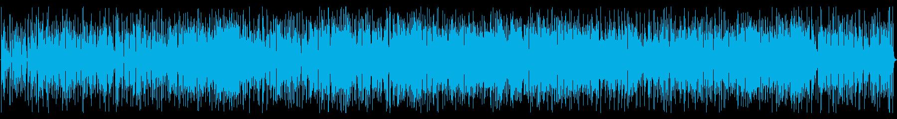 爽快おしゃれBGMの再生済みの波形