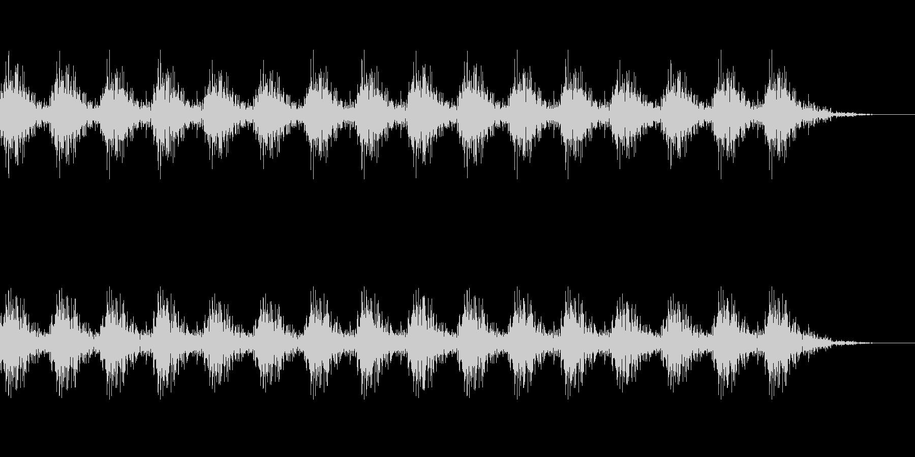 どんどん(巨人、速歩き)A03の未再生の波形