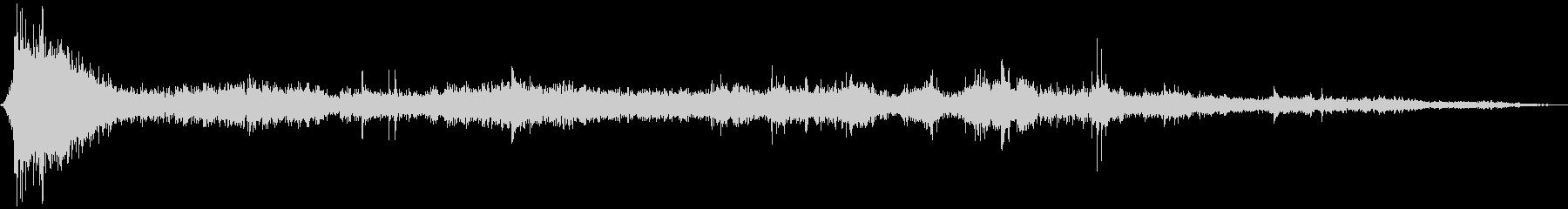 キラー・ホエール:ブローホール・ブ...の未再生の波形