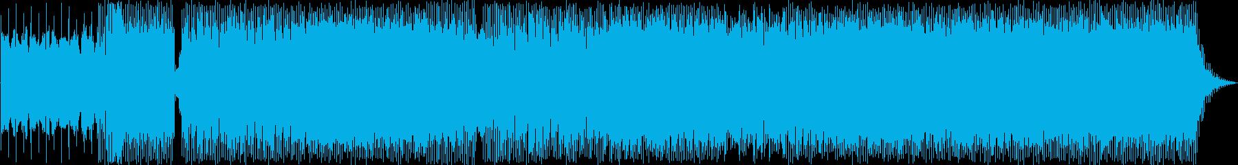 トランストリップ。シンセメロディー。の再生済みの波形