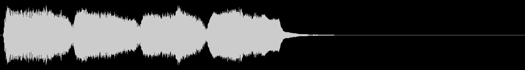 KANT勢いのある可愛いアイキャッチの未再生の波形