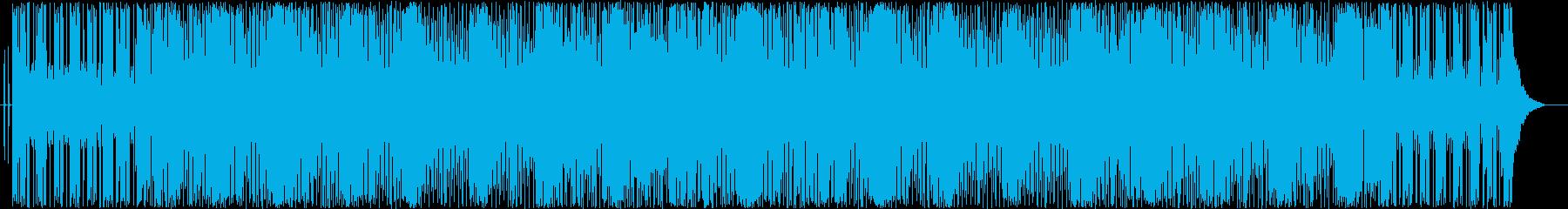 ワクワクしてくるスカのビートの再生済みの波形