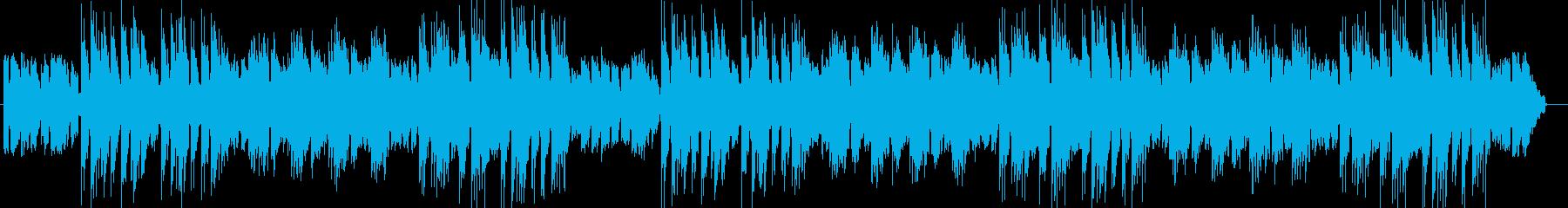 切ないムーディーギターサウンドの再生済みの波形