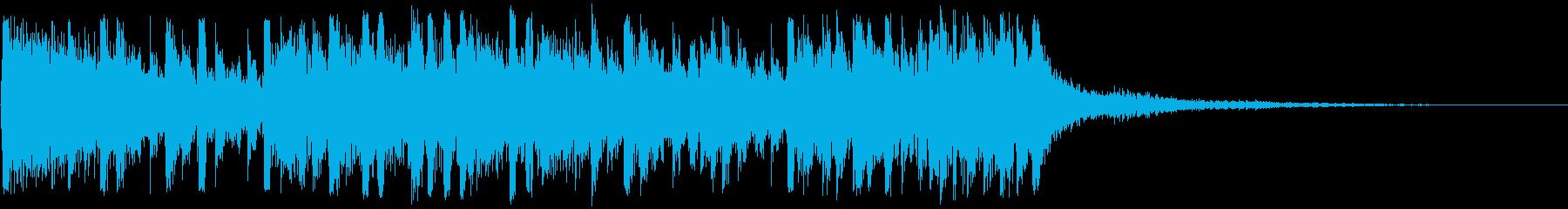 絶体絶命ピンチ 脳内パニックアイキャッチの再生済みの波形