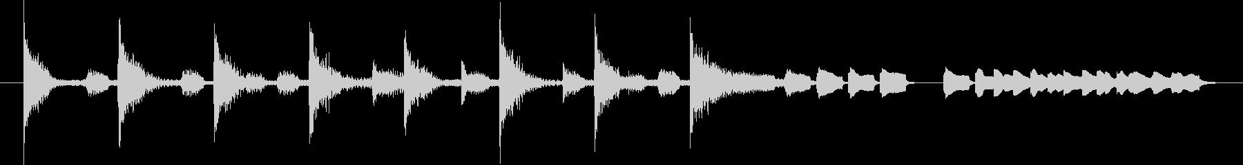 ブンチャブンチャ~テレレテッテレー 6の未再生の波形