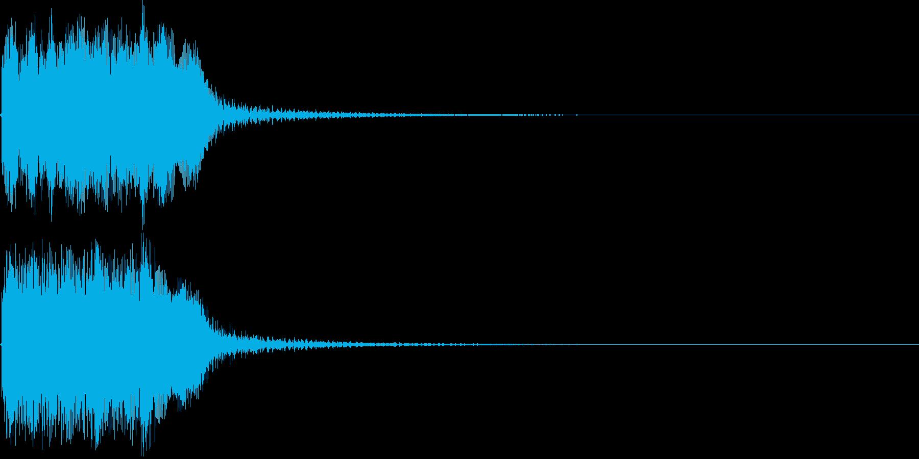 ファンファーレ ハズレ 失格 残念 05の再生済みの波形