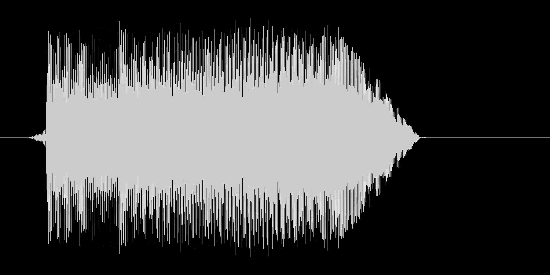ゲーム(ファミコン風)ジャンプ音_043の未再生の波形