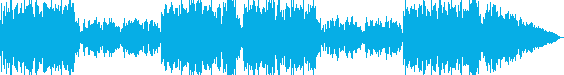 ピアノとストリングスが印象深い壮大な曲の再生済みの波形