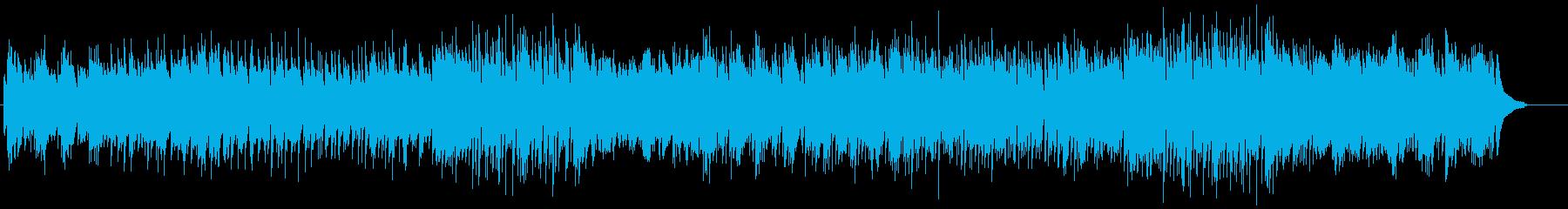 アジアン、和風なピアノとアンサンブルの再生済みの波形