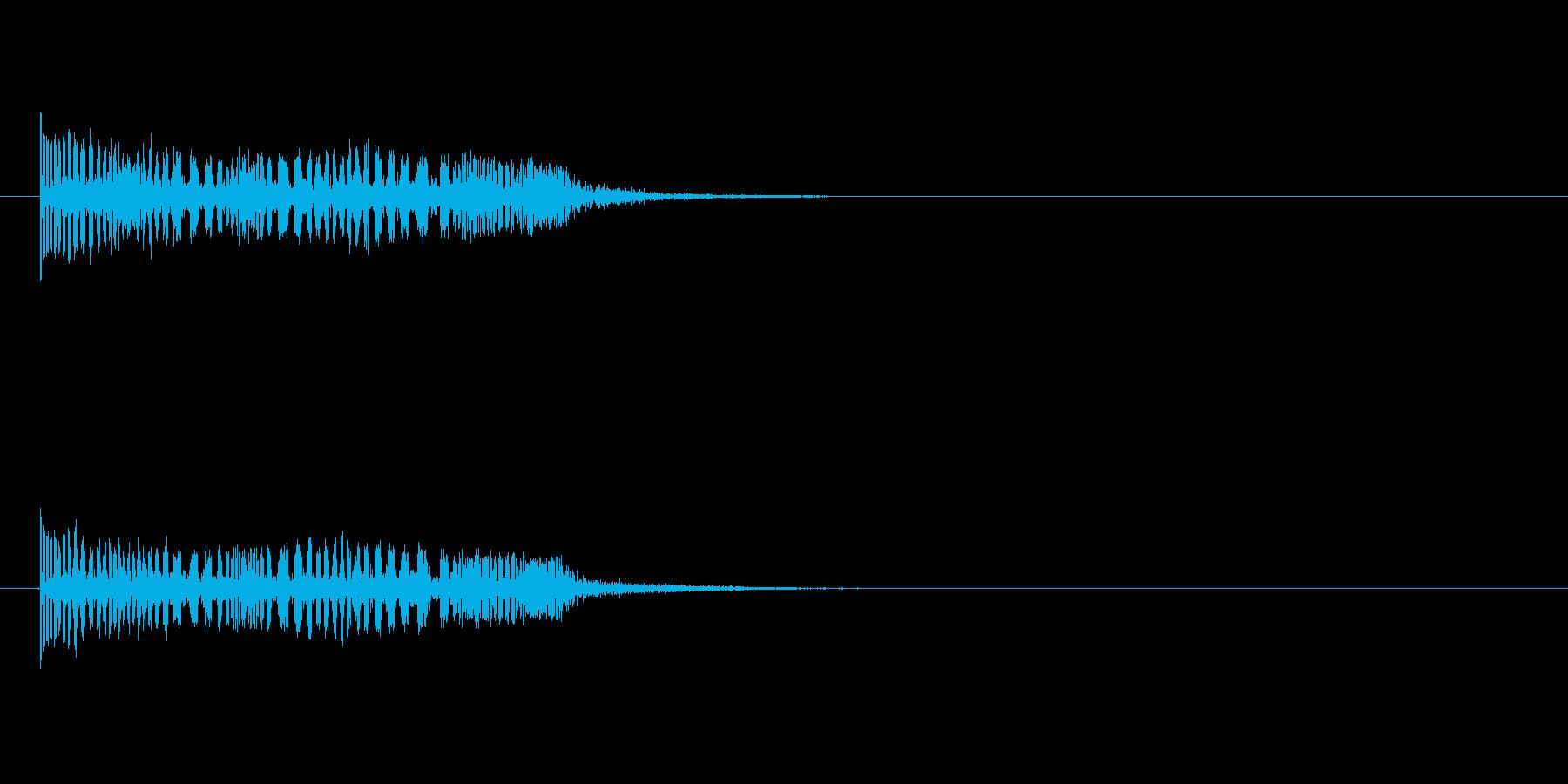 ロボット系、機械系SFXの再生済みの波形