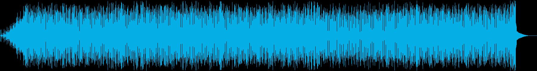 おしゃれでかわいいエレクトロポップの再生済みの波形
