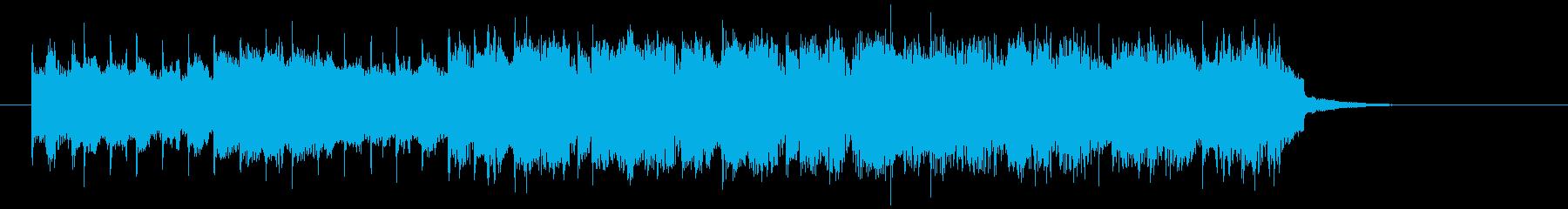 クールで軽快なエレキジングルの再生済みの波形