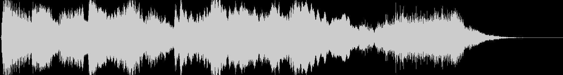 ホラーなファンファーレの未再生の波形