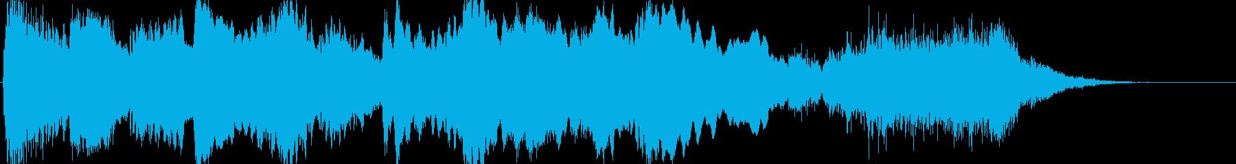 ホラーなファンファーレの再生済みの波形