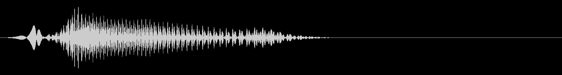 かけ声/気合い声(バトル用)A 011の未再生の波形