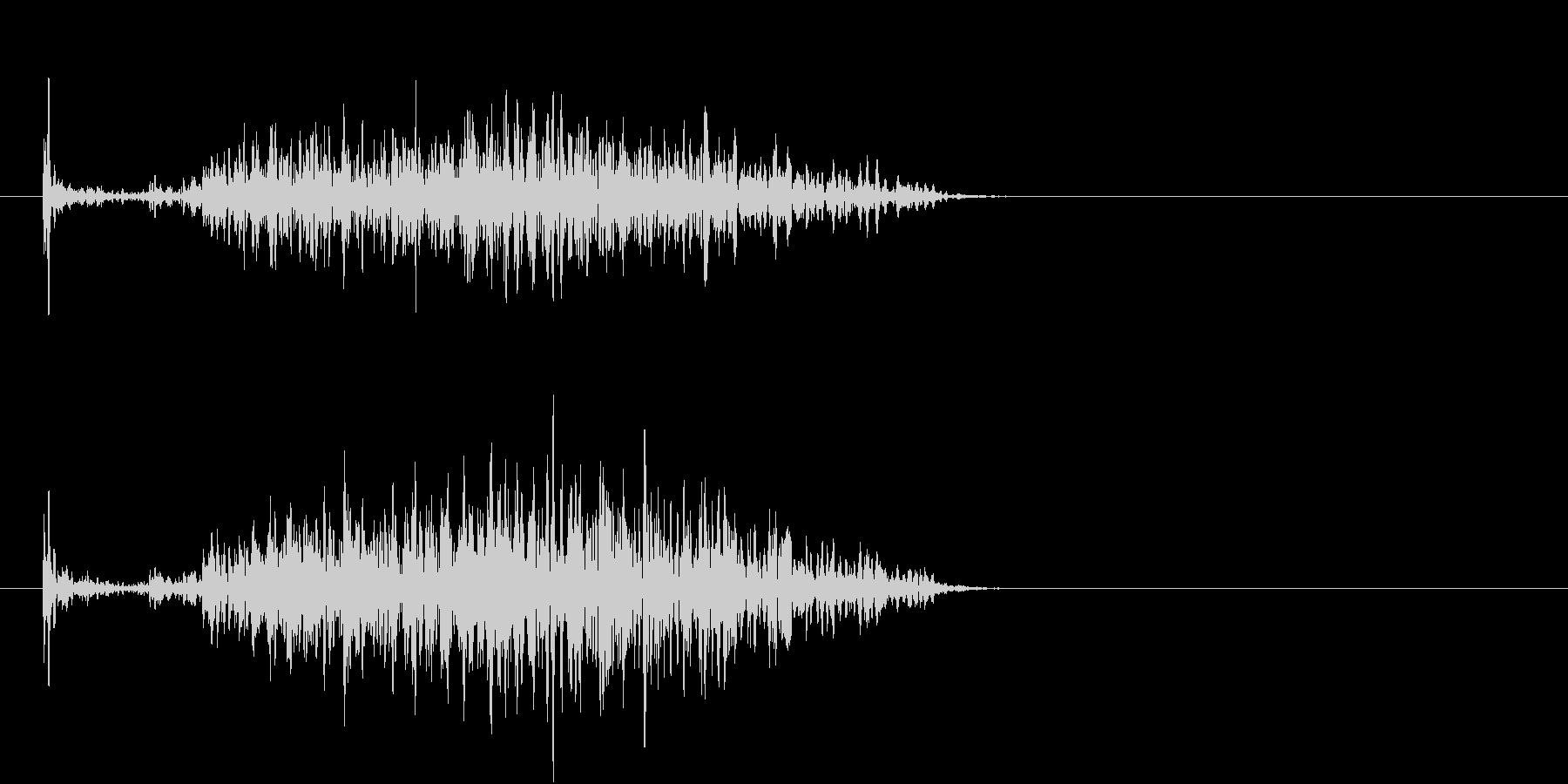 【生録音】ペンで書く音 机 12の未再生の波形