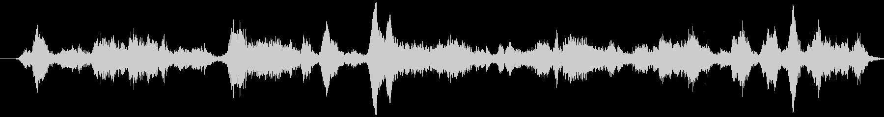 大型軽金属ホイール:重いキーキー音...の未再生の波形