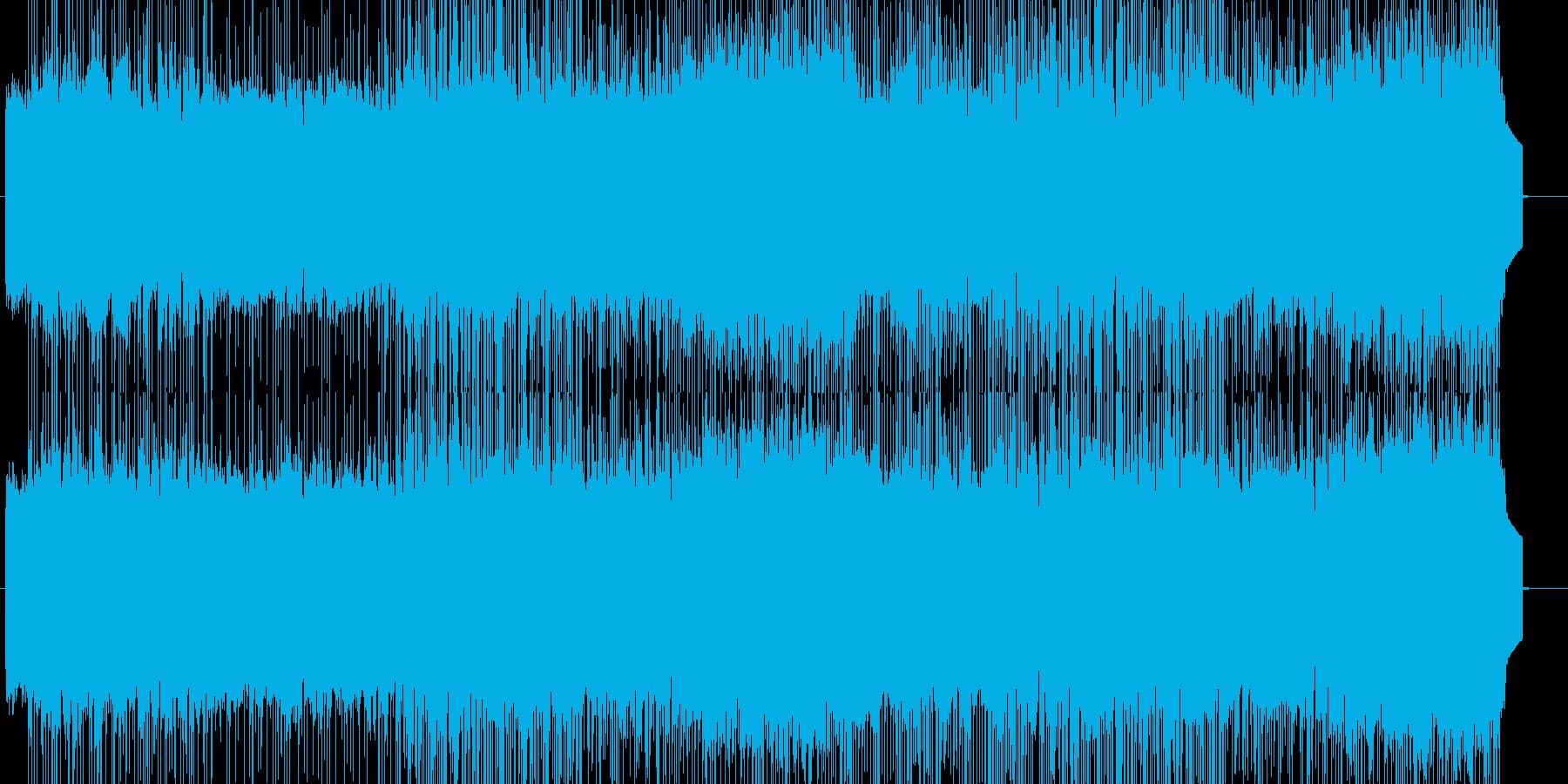「HARD/HEAVY」BGM33の再生済みの波形