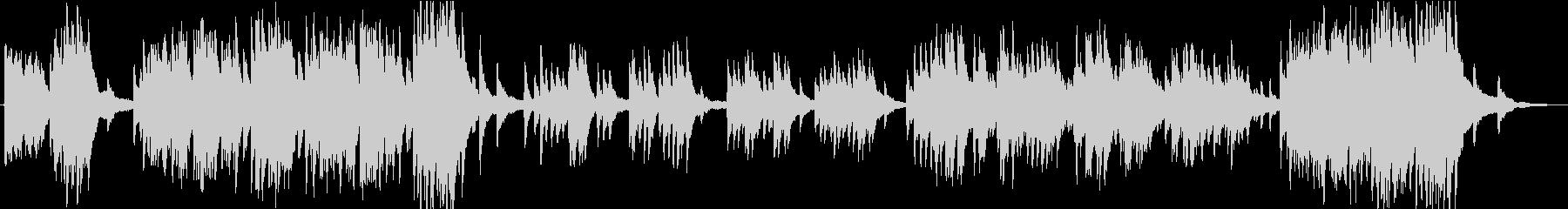 ソロピアノ。勝利、フォーク、中世の...の未再生の波形