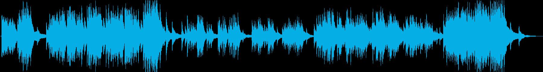 ソロピアノ。勝利、フォーク、中世の...の再生済みの波形