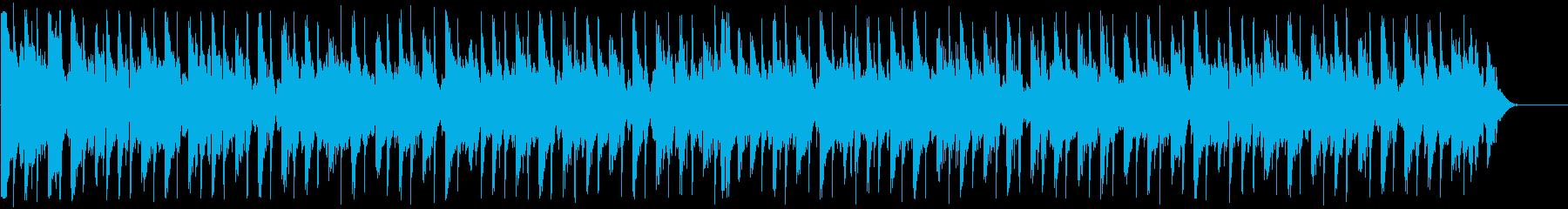 きらびやかなファンクディスコ_612_4の再生済みの波形