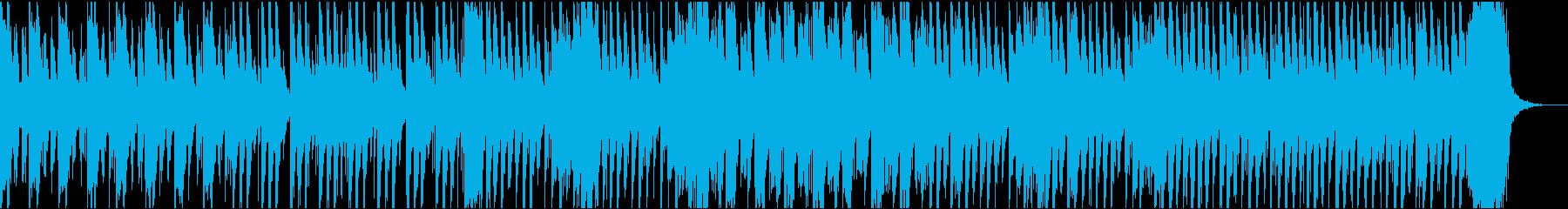 ハロウィン風の怪しげな行進曲の再生済みの波形