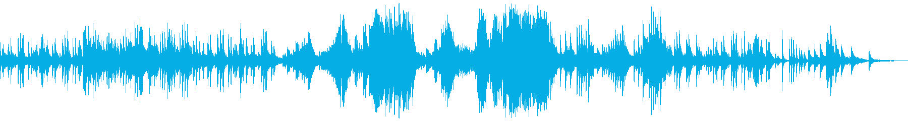 ショパン 前奏曲第15番 雨だれの再生済みの波形