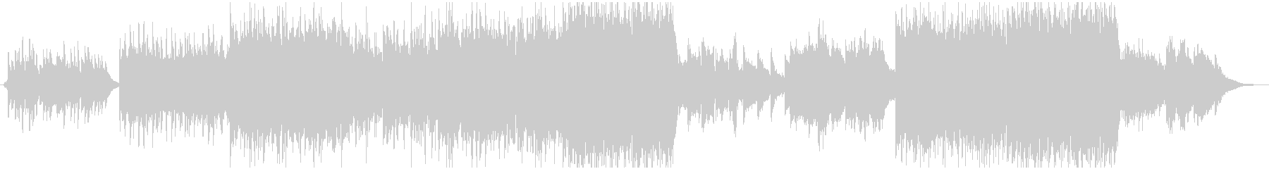 現代の交響曲でハッピーな曲の未再生の波形