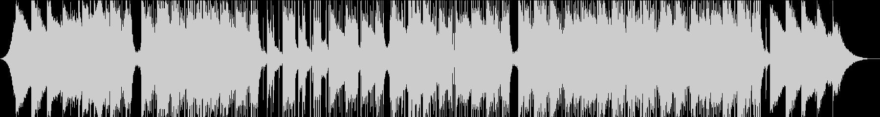 スタイリッシュ、ヒップホップ、チルアウトの未再生の波形