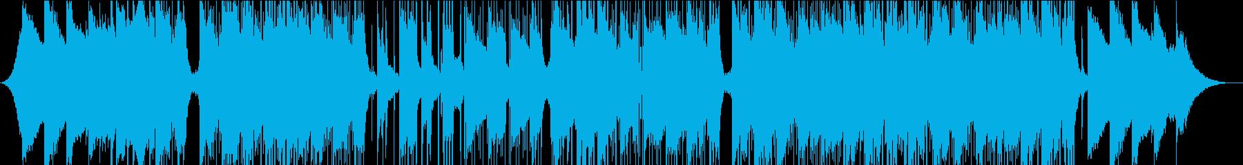 スタイリッシュ、ヒップホップ、チルアウトの再生済みの波形