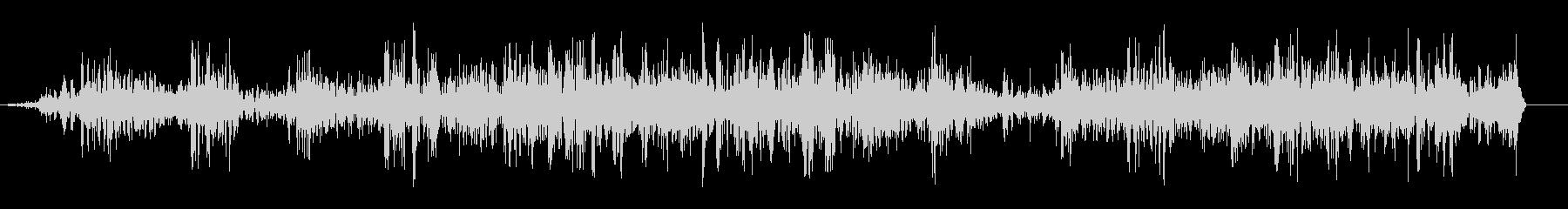 ブワブワ(泡が涌き上る音)の未再生の波形