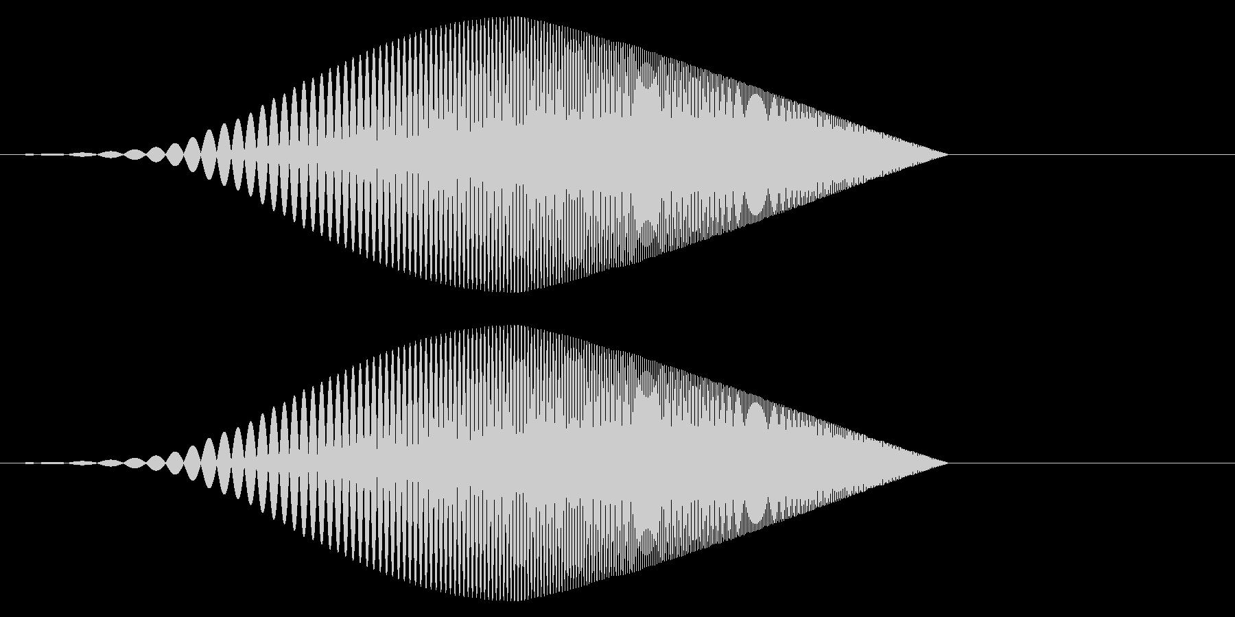 Tool プレゼン映像向け動作SE 4の未再生の波形