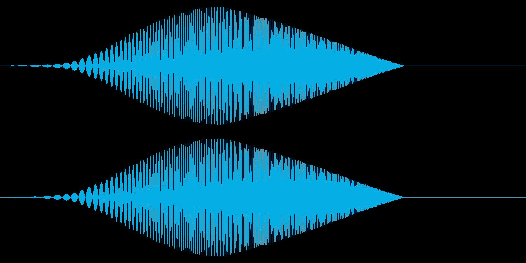 Tool プレゼン映像向け動作SE 4の再生済みの波形