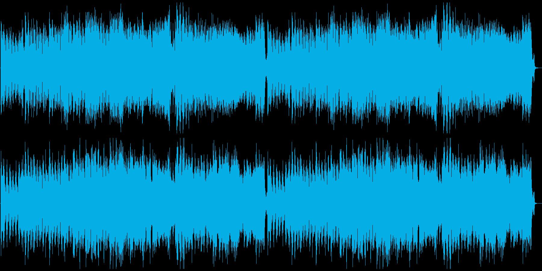 勇ましい中世オーケストラの再生済みの波形