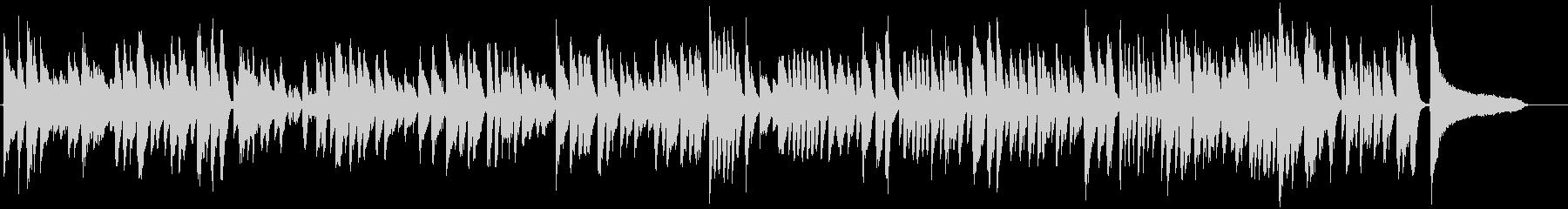 ブルース、ジャズ調ほのぼのBGMの未再生の波形