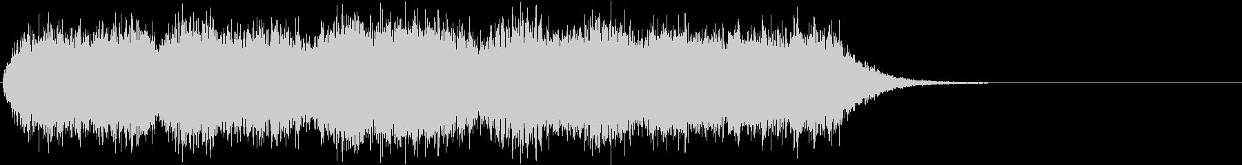 ホラー 不気味な雰囲気のオルガン 1の未再生の波形