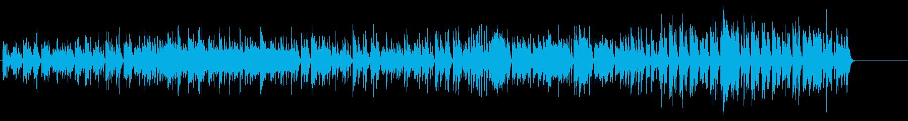 ほのぼのとあたたかい、和やかな日常02の再生済みの波形