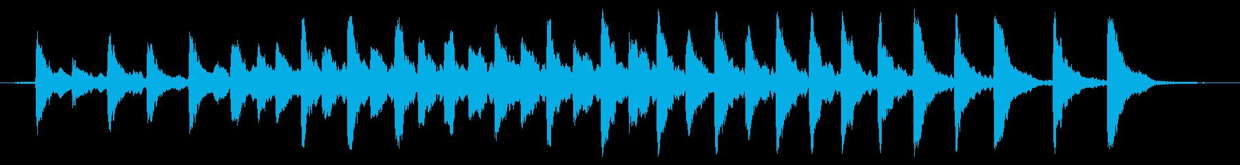 レプトン教会G#ベル:リンギングの再生済みの波形