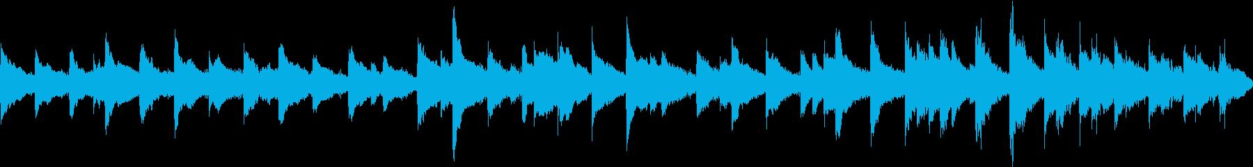 映画的静かで優しいピアノ曲[ループ仕様]の再生済みの波形