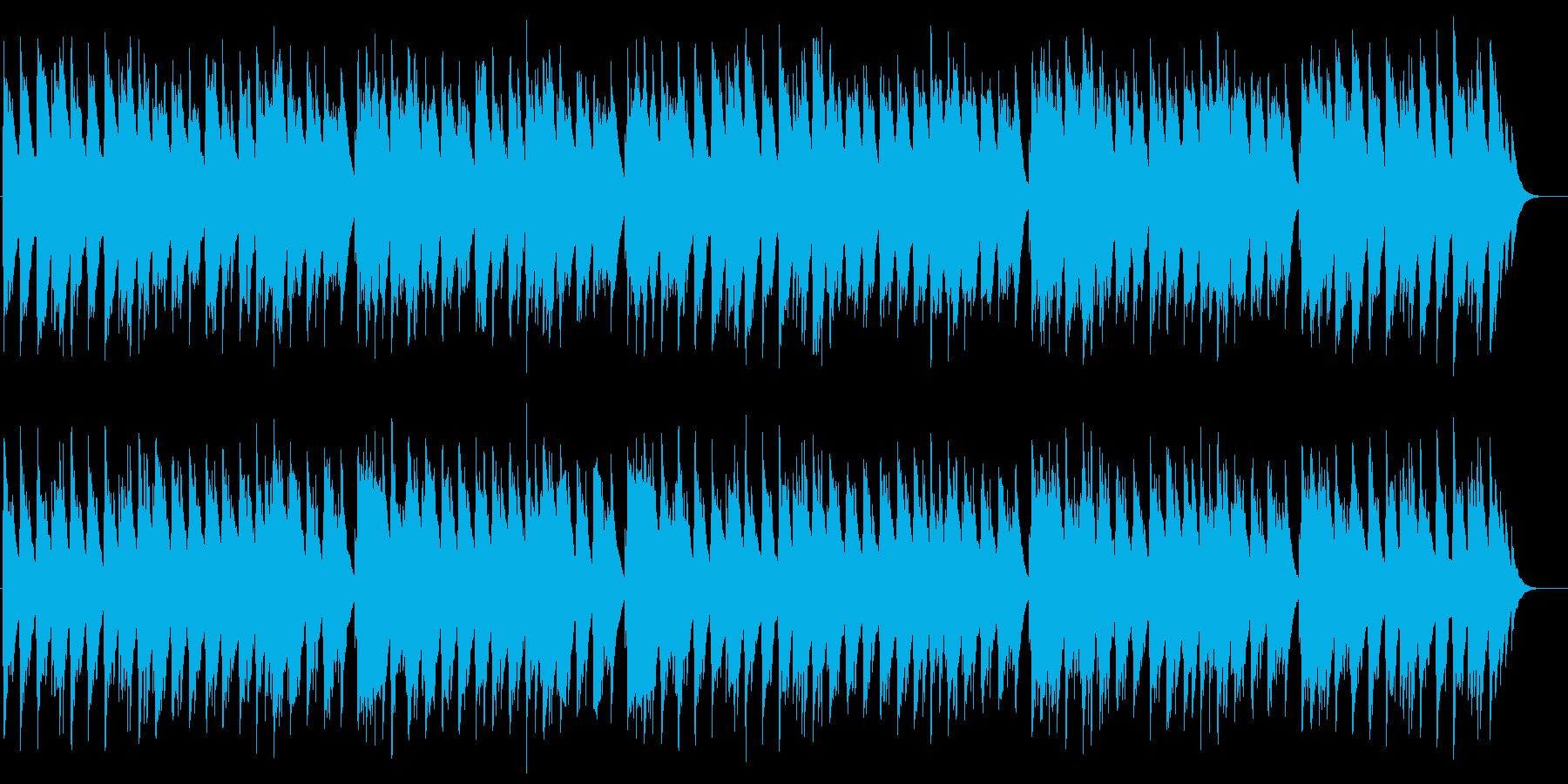 小さなティーポット オルゴールの再生済みの波形
