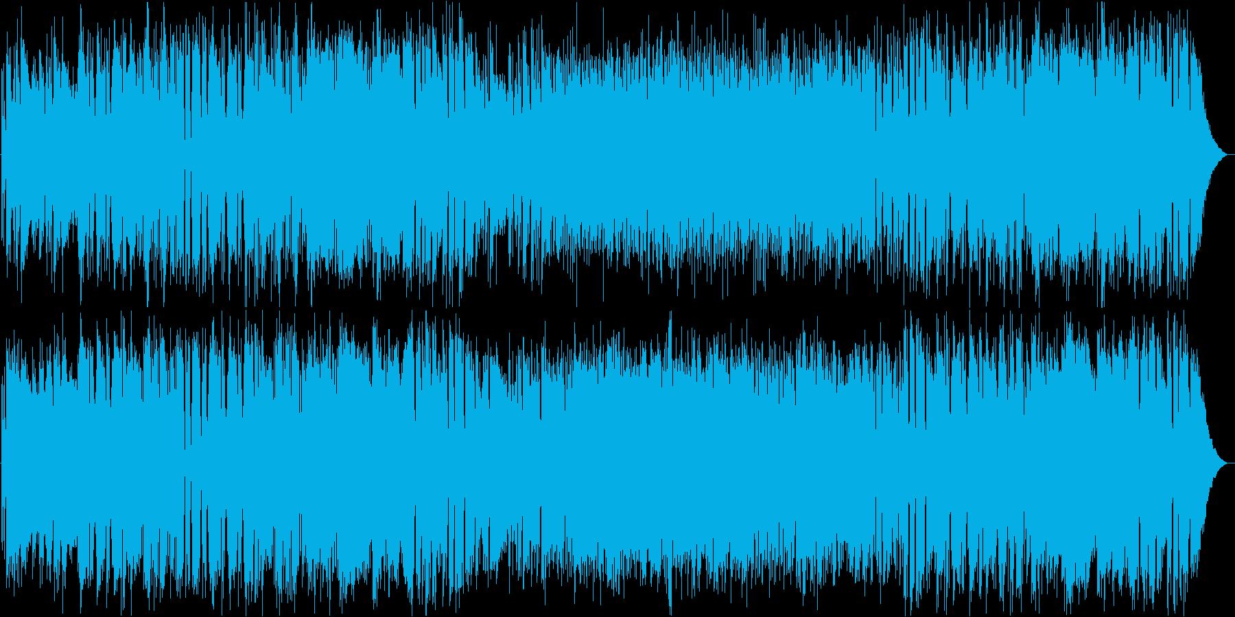 フォトジェニックなフルートの再生済みの波形