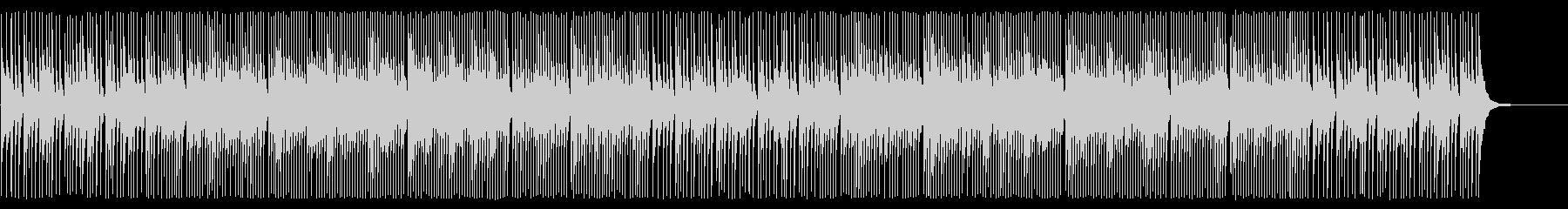 三味線ソロのアップテンポでクールなシーンの未再生の波形