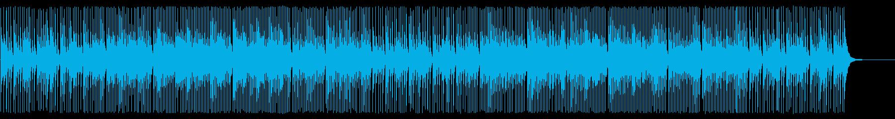 三味線ソロのアップテンポでクールなシーンの再生済みの波形