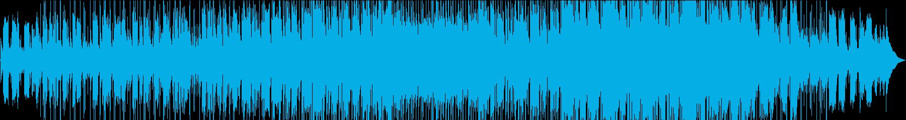 スローテンポの落ち着いたポップスの再生済みの波形