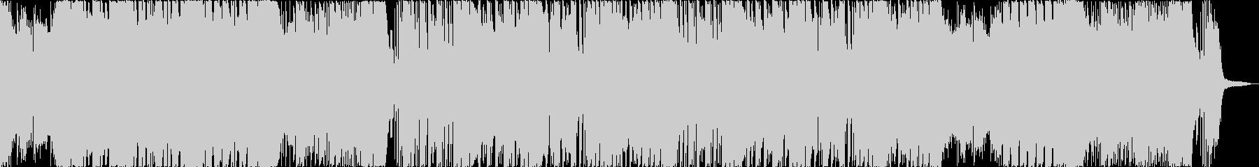 シンセのメロディが特徴的なダブステップの未再生の波形